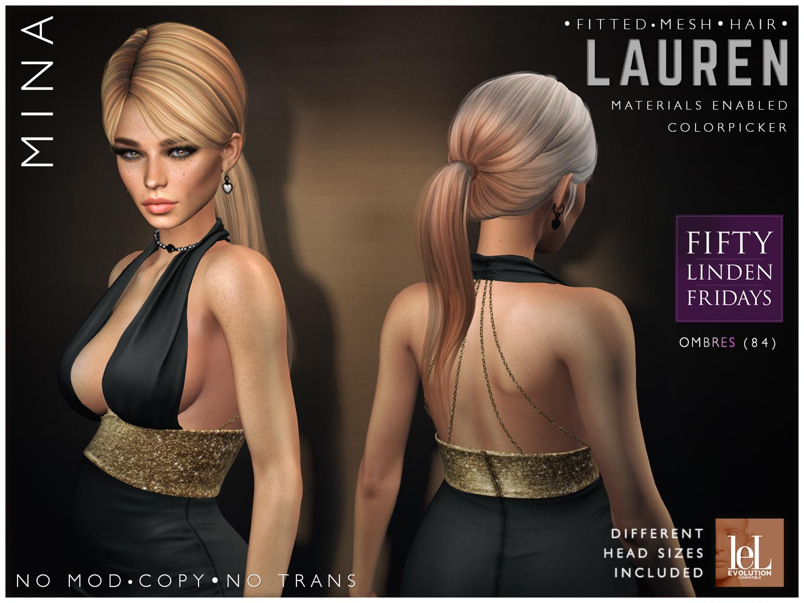 MINA Hair – Lauren – Fifty Linden Friday, 50L