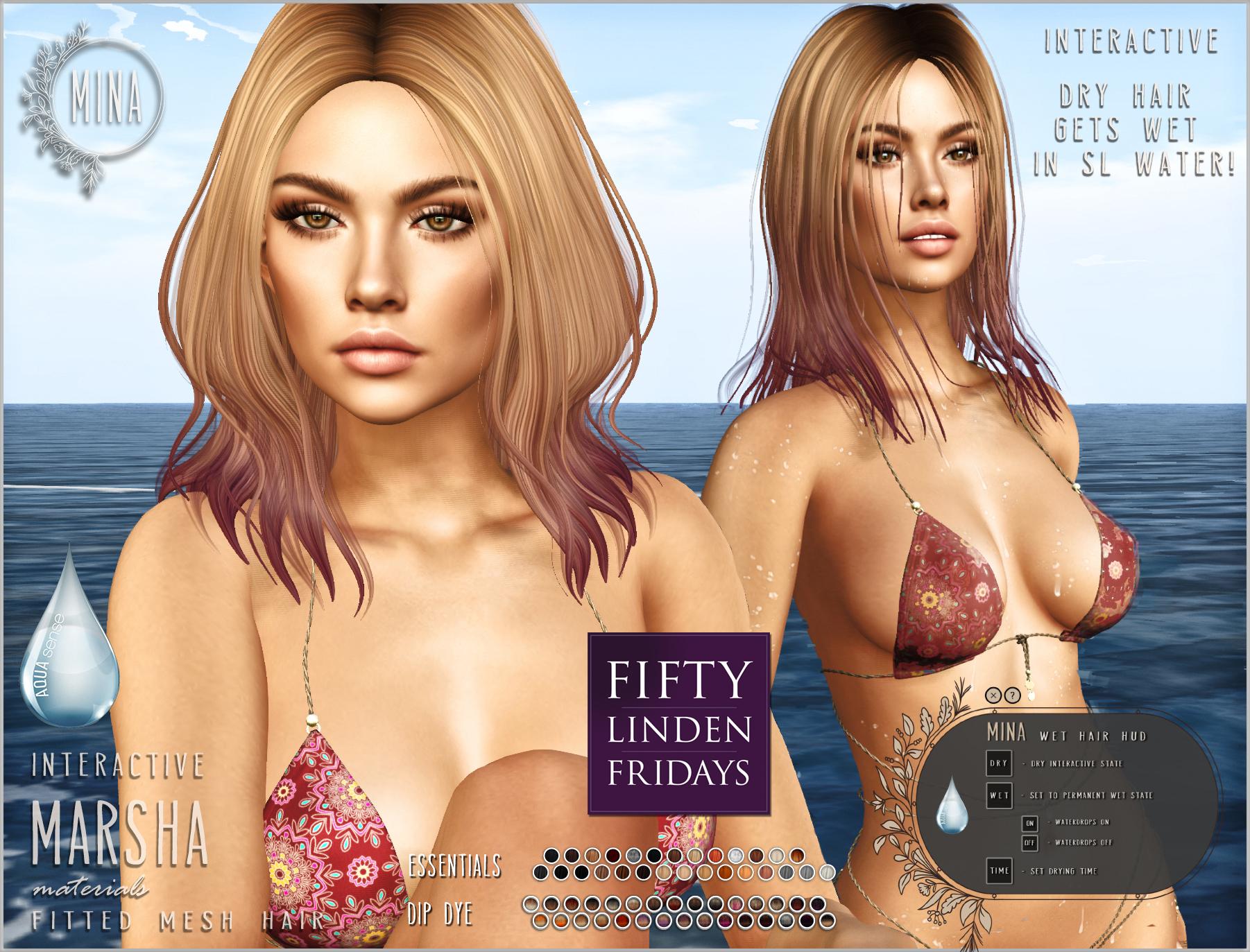 MINA Hair – Marsha – Fifty Linden Friday