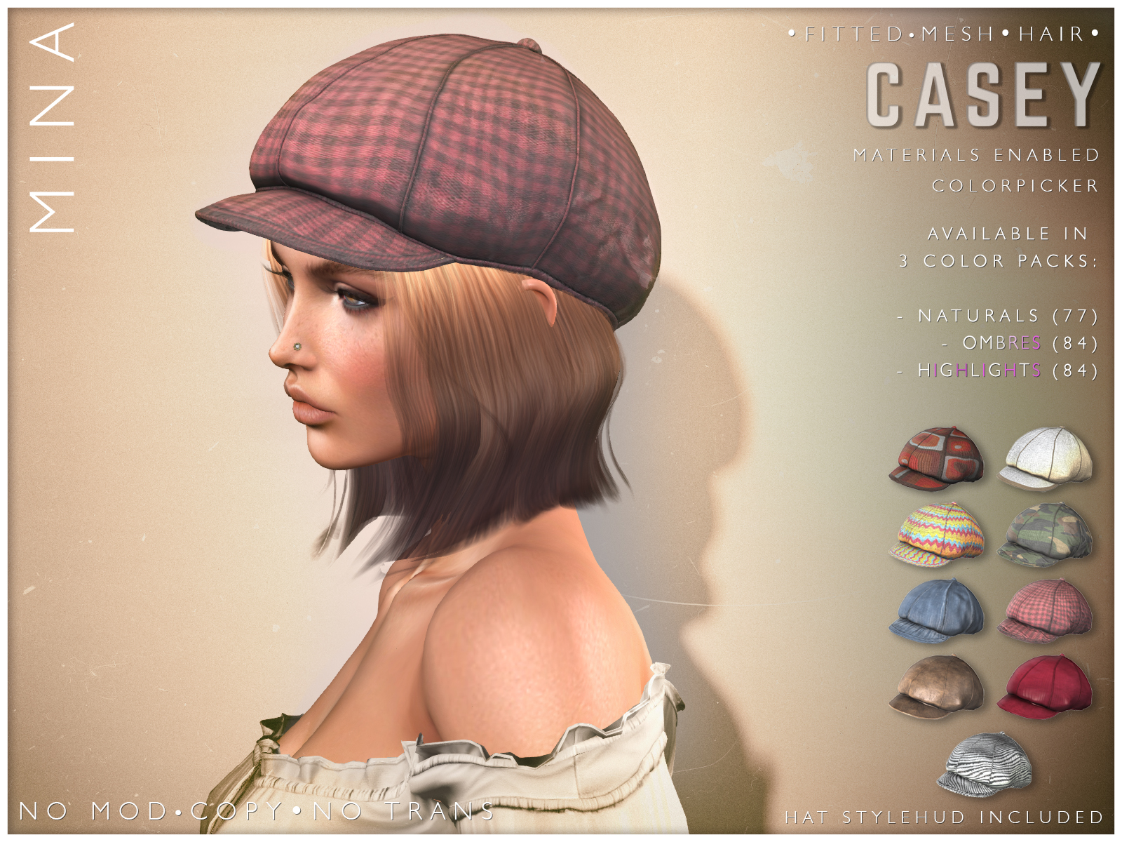 MINA Hair – Casey – Hair Fair 2021