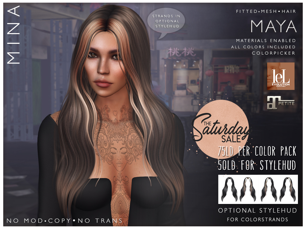 MINA Hair – Maya – The Saturday Sale